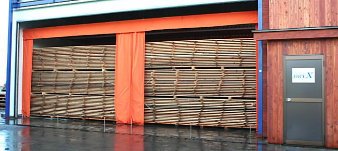 木材乾燥設備